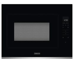 ZMBN4SX Built-in Solo Microwave - Black & Stainless Steel