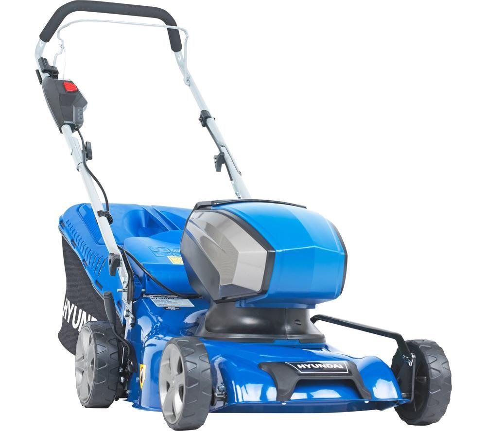 HYUNDAI HYM40LI420P Cordless Rotary Lawn Mower - Blue