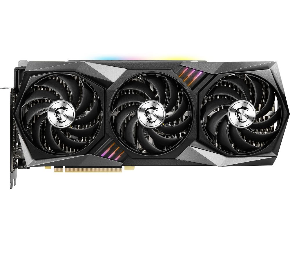MSI GeForce RTX 3090 24 GB GAMING X TRIO Graphics Card