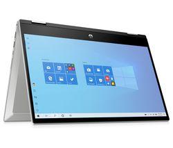 "Pavilion x360 14"" 2 in 1 Laptop - Intel® Pentium™ Gold, 128 GB SSD, Silver"