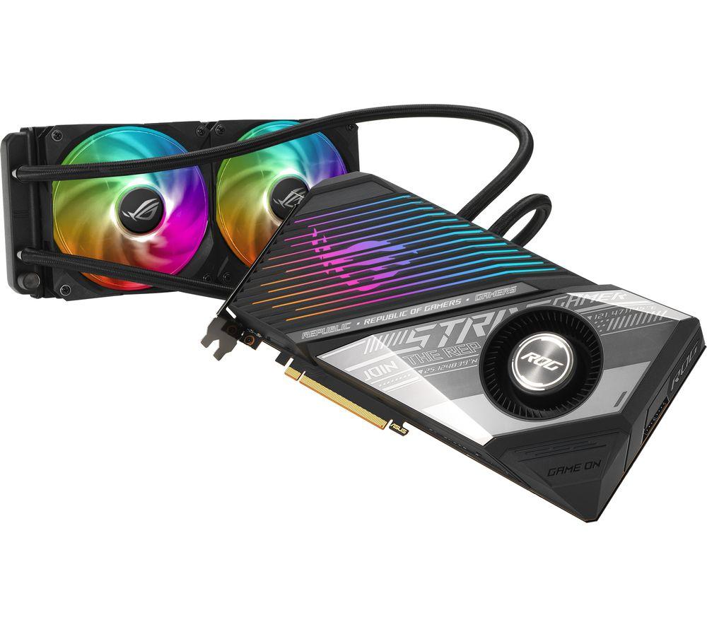 ASUS Radeon RX 6800 XT 16 GB ROG Strix LC GAMING OC Graphics Card