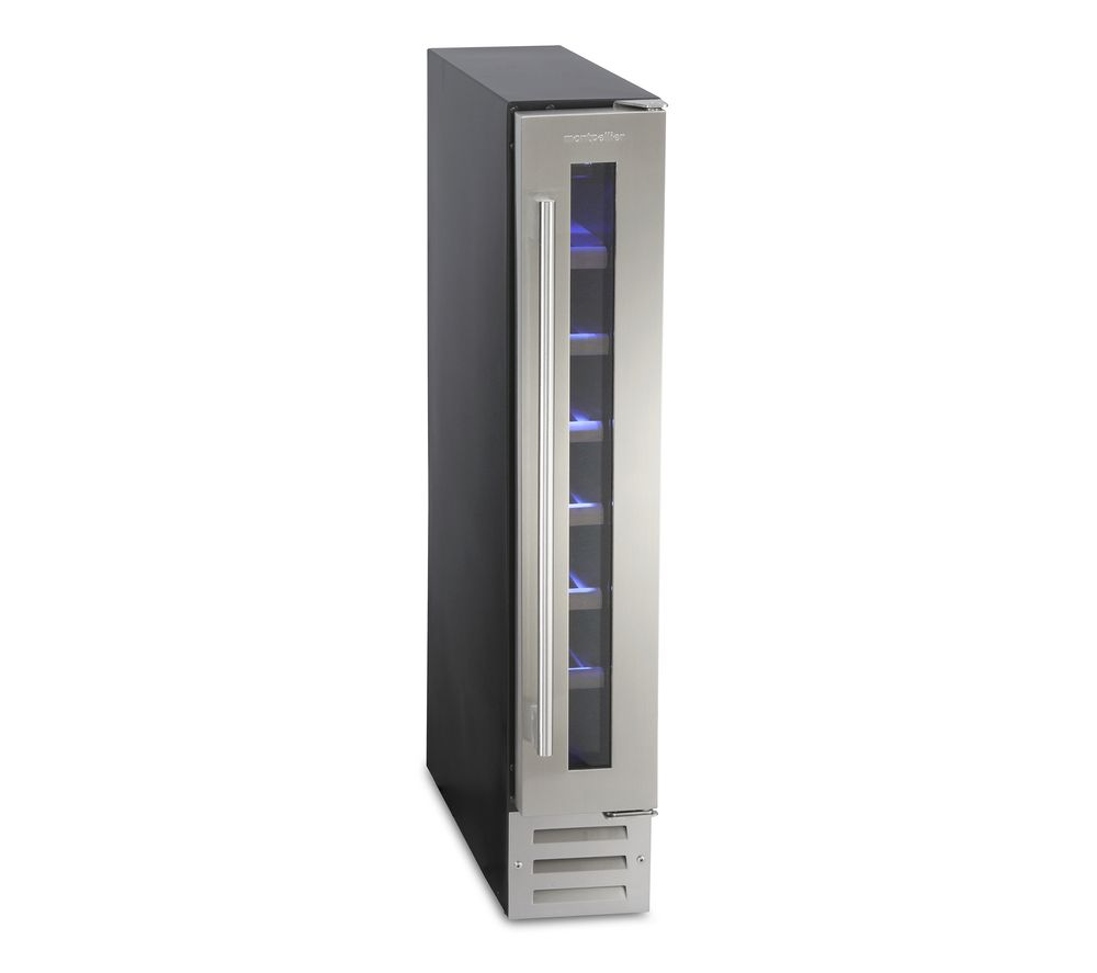 MONTPELLIER MON-WC7X Wine Cooler - Stainless Steel, Stainless Steel