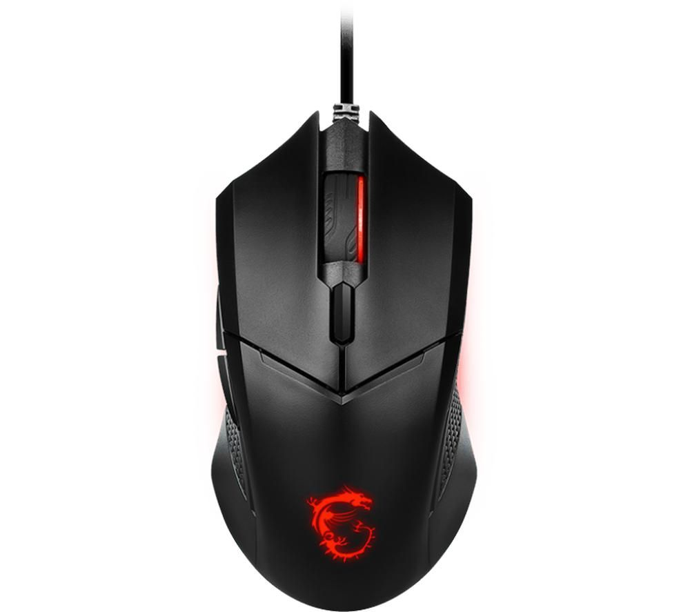 Image of MSI Clutch GM08 Optical Gaming Mouse, Red