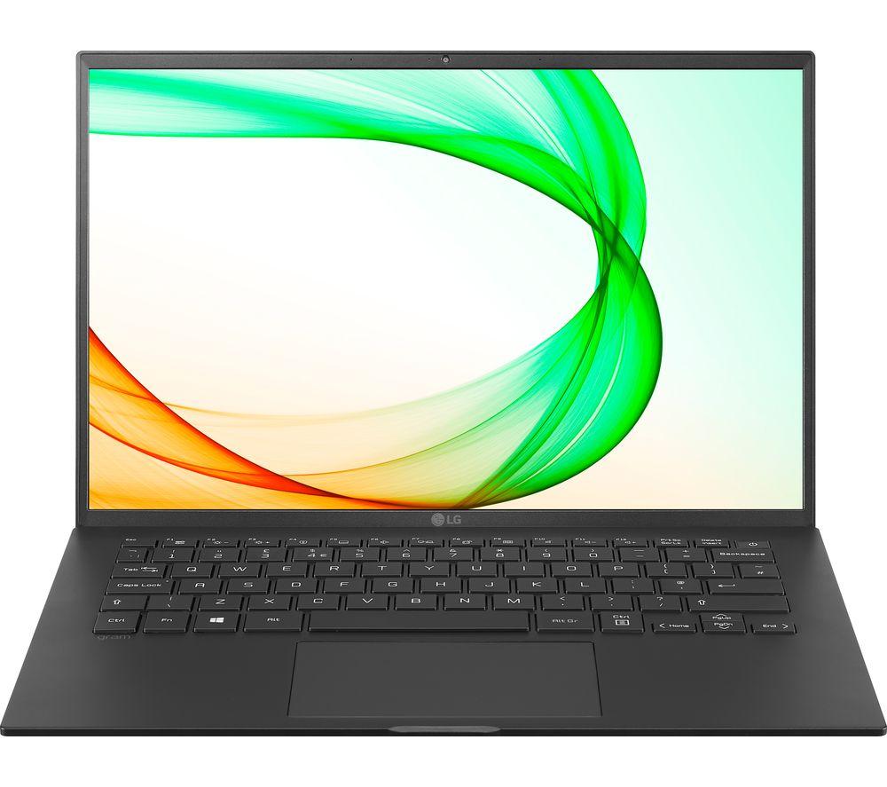 "Image of LG GRAM 14Z90P 14"" Laptop - Intel®Core™ i7, 512 GB SSD, Black, Black"