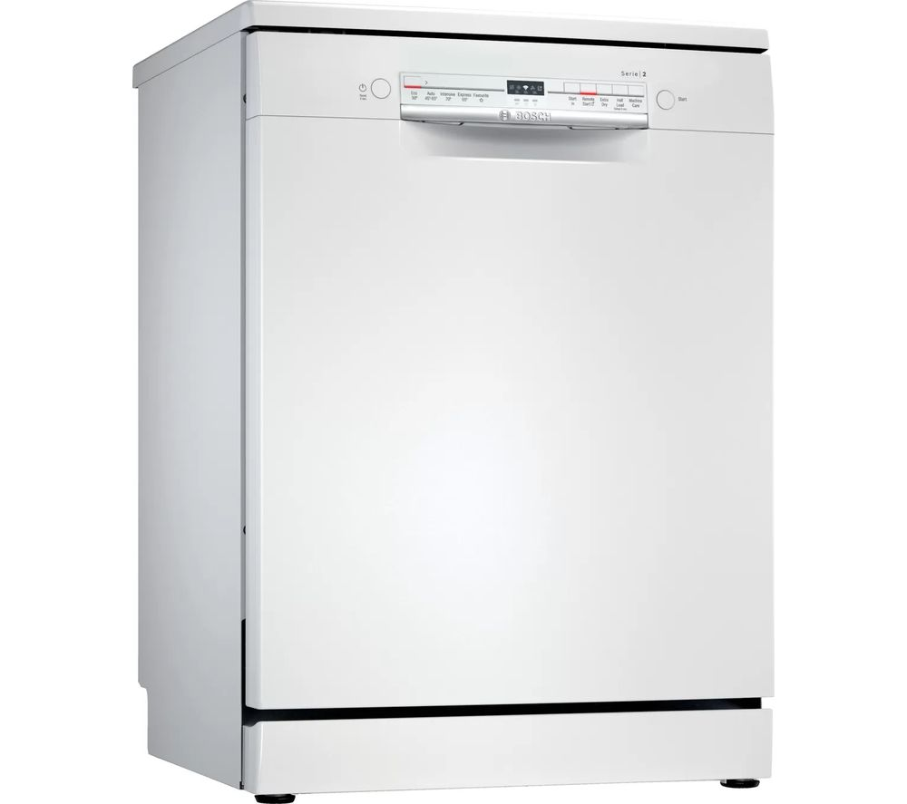 BOSCH Serie 2 SMS2ITW08G Full-size WiFi-enabled Dishwasher - White