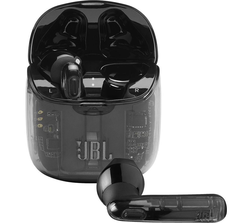 JBL Tune 225TWS Wireless Bluetooth Earbuds - Ghost Black
