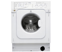 INDESIT Ecotime IWME147 Integrated Washing Machine Best Price, Cheapest Prices