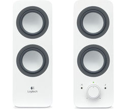 LOGITECH Z200 2.0 PC Speakers - White