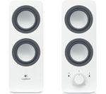 LOGITECH Z200 2.0 PC Speakers - White