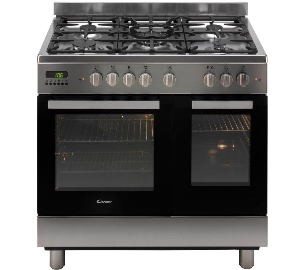 CANDY CCG9D52PX Dual Fuel Range Cooker - Stainless Steel