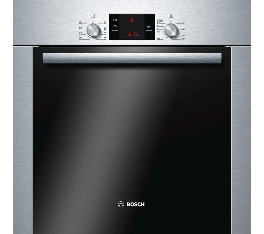 BOSCH Serie 6 HBA63R252B Pyrolytic Electric Oven - Stainless Steel