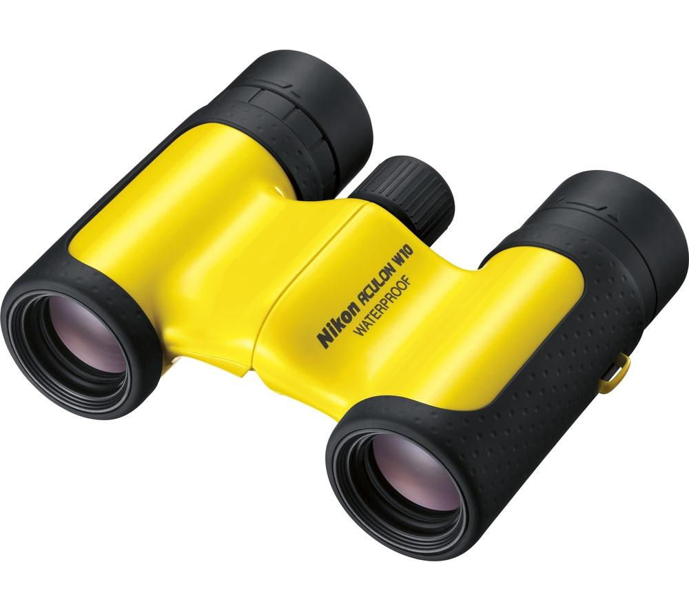 NIKON Aculon W10 8 x 21 mm Binoculars - Yellow