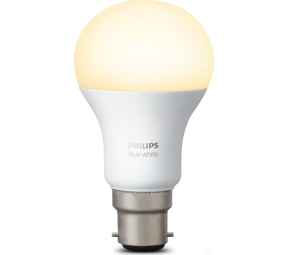 buy philips hue white wireless bulb b22 free delivery currys. Black Bedroom Furniture Sets. Home Design Ideas