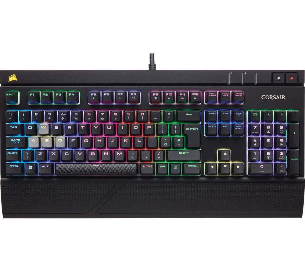 CORSAIR STRAFE RGB Silent Mechanical Gaming Keyboard