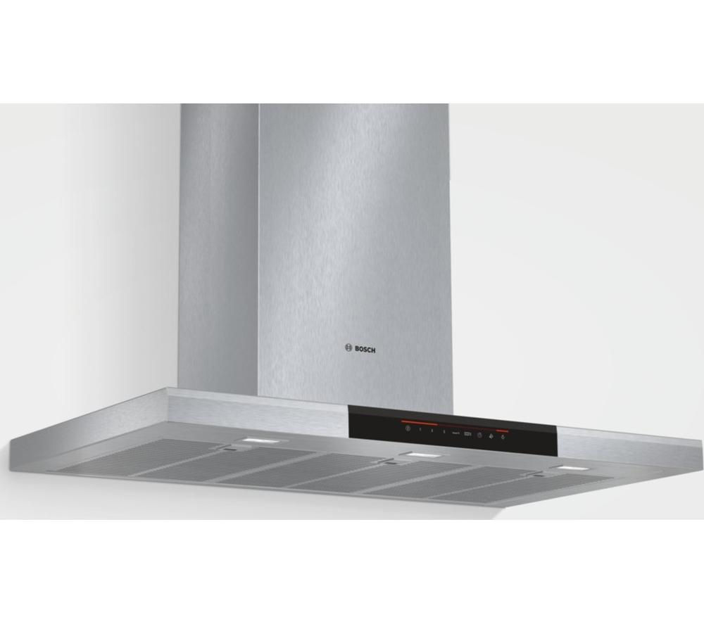 BOSCH DWB098J50B Chimney Cooker Hood - Stainless Steel