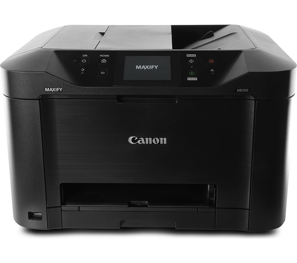 CANON Maxify MB5150 All-in-One Wireless Inkjet Printer with Fax, Black