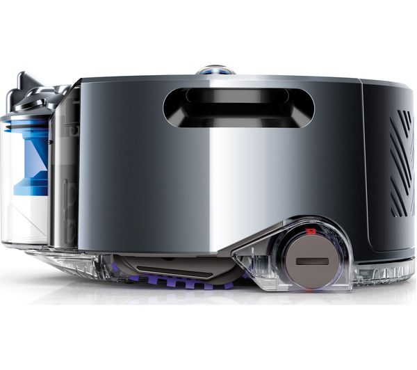 DYSON Robot 360eye Robot Vacuum Cleaner   Blue U0026 Nickel