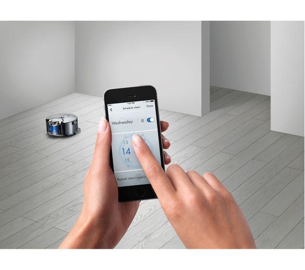 DYSON Robot 360eye Robot Vacuum Cleaner - Blue & Nickel