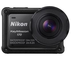 NIKON KeyMission 170 4K Ultra HD Action Camcorder - Black
