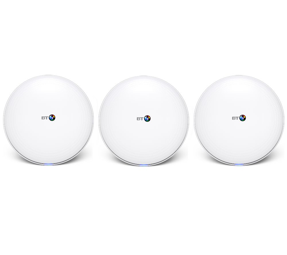 BT Whole Home WiFi System - Triple Pack