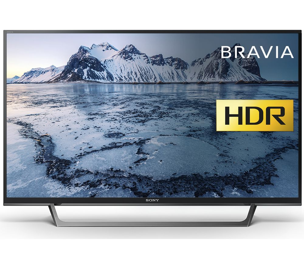"SONY BRAVIA KDL40WE663 40"" Smart HDR LED TV + HT-CT290 2.1 Wireless Sound Bar"