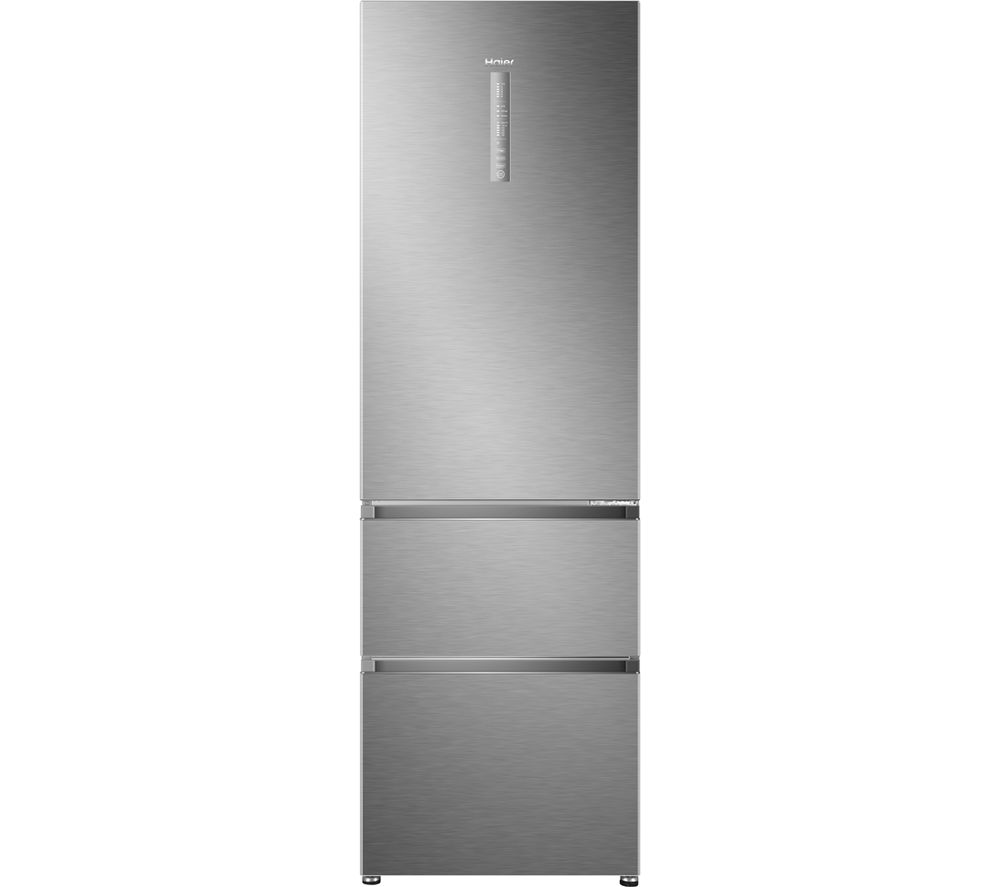 HAIER A3FE635CMJ 60/40 Fridge Freezer - Stainless Steel