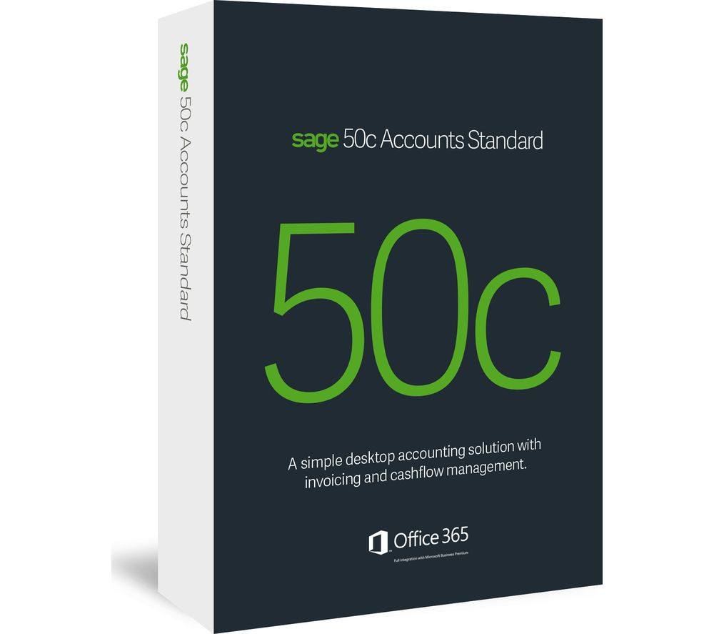 Buy Sage 50c Accounts Standard Free Delivery Currys