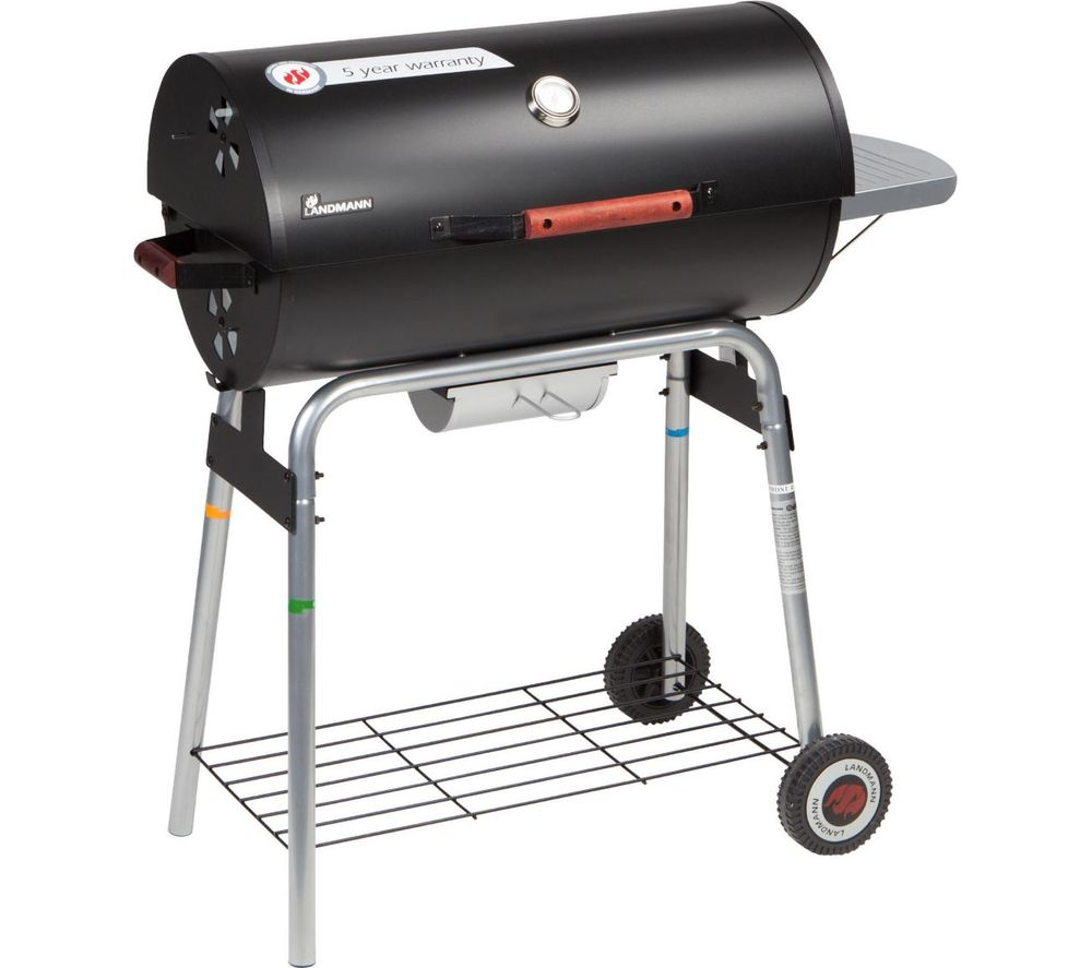 LANDMANN Taurus 660 Charcoal Drum BBQ - Black