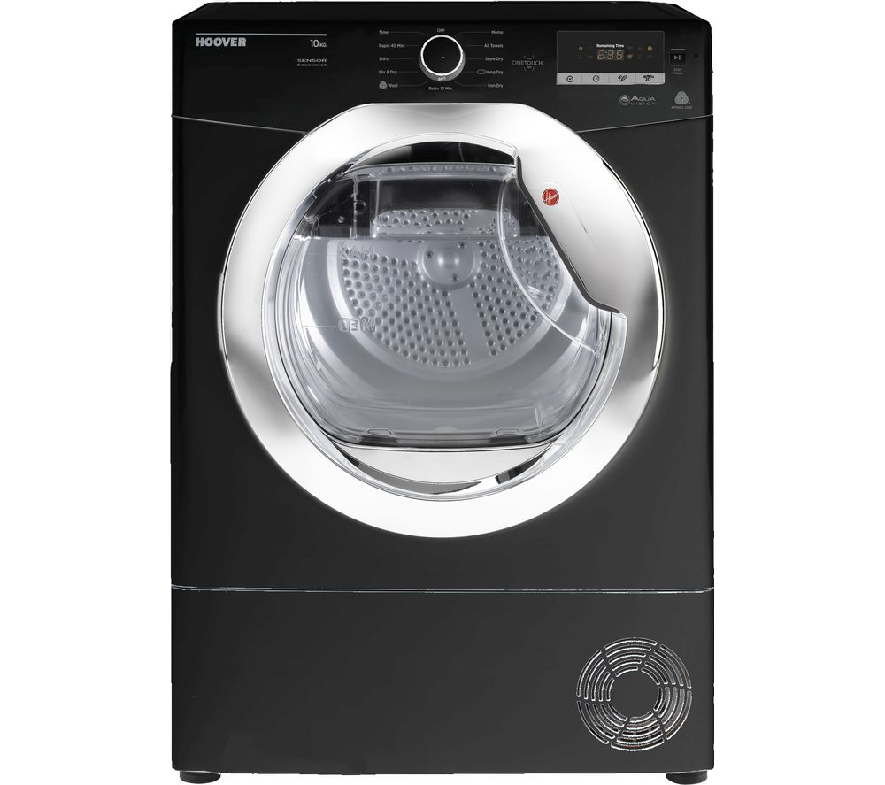 HOOVER Dynamic Next DX C10DCEB NFC 10 kg Condenser Tumble Dryer - Black