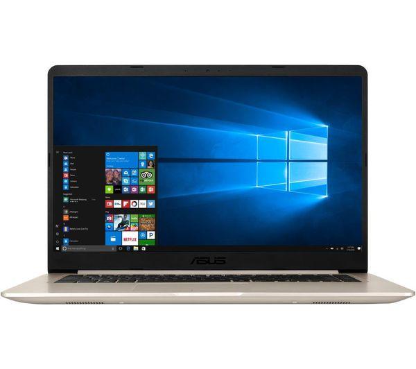 "Image of ASUS VivoBook Pro S10 15.6"" Laptop - Gold"