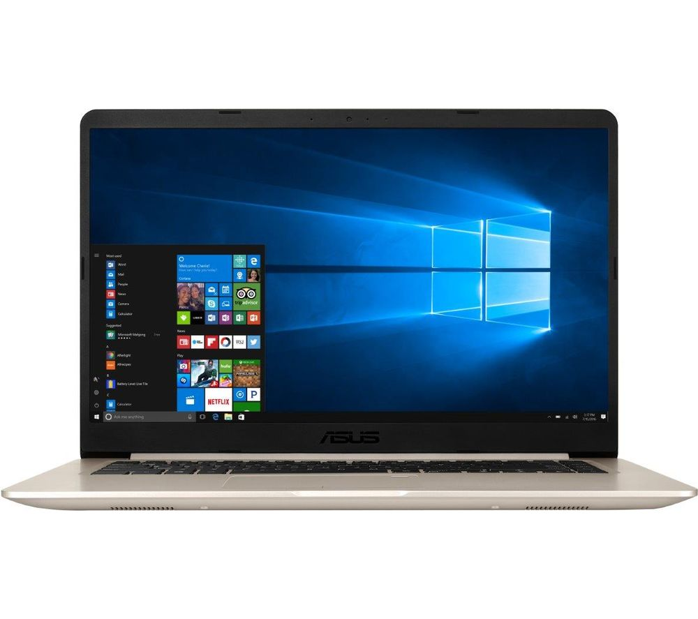 "Image of ASUS VivoBook S15 S510UA 15.6"" Laptop - Gold, Gold"