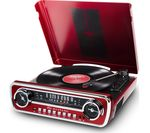 ION Mustang LP Turntable - Red