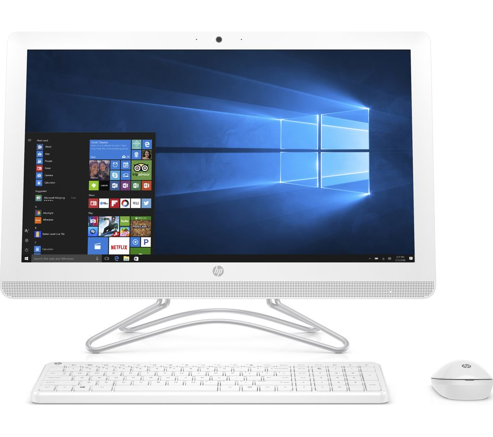 "HP 24-e030na 23.8"" All-in-One PC - White Deals 