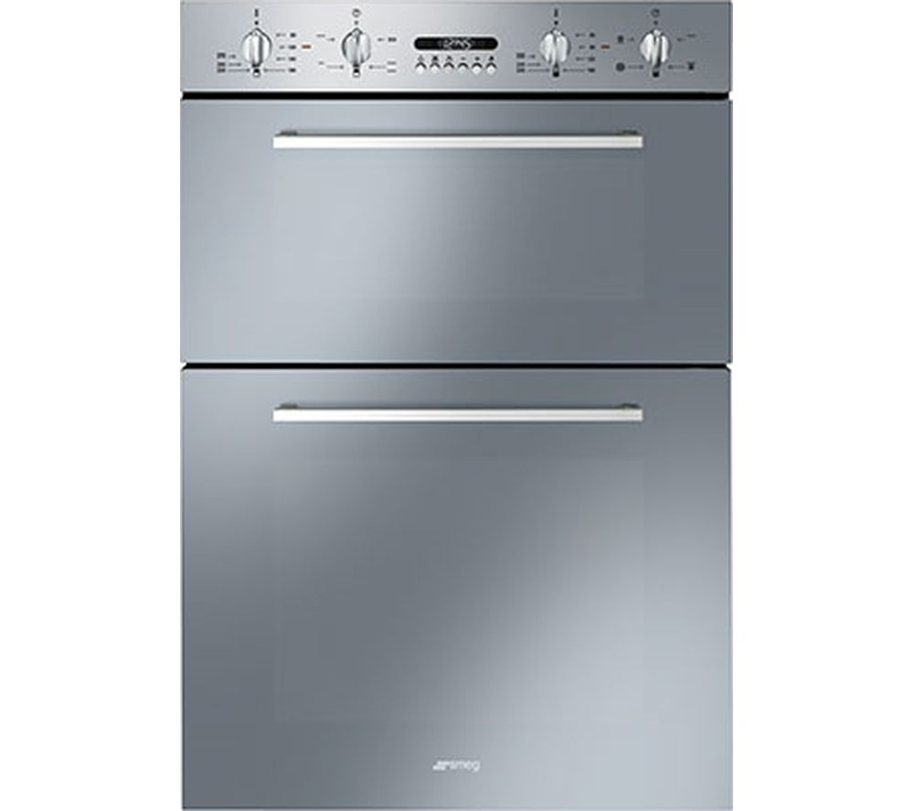 Buy SMEG Cucina DOSF44X Electric Double Oven - Stainless Steel ...