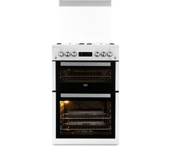 BEKO XDVG675NTW 60 cm Gas Cooker - White