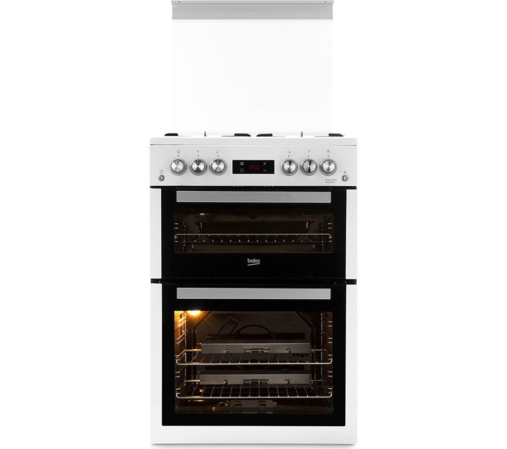 BEKO Pro XDVG675NTW 60 cm Gas Cooker - White