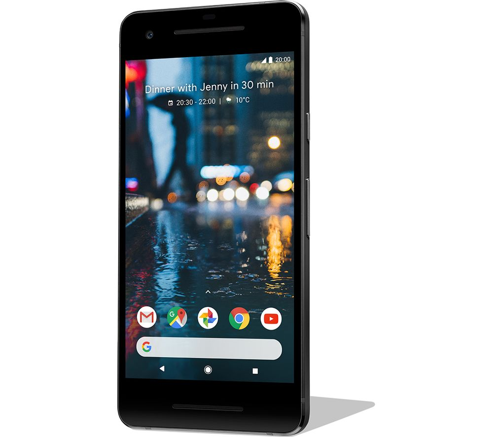 GOOGLE Pixel 2 - 128 GB, Just Black