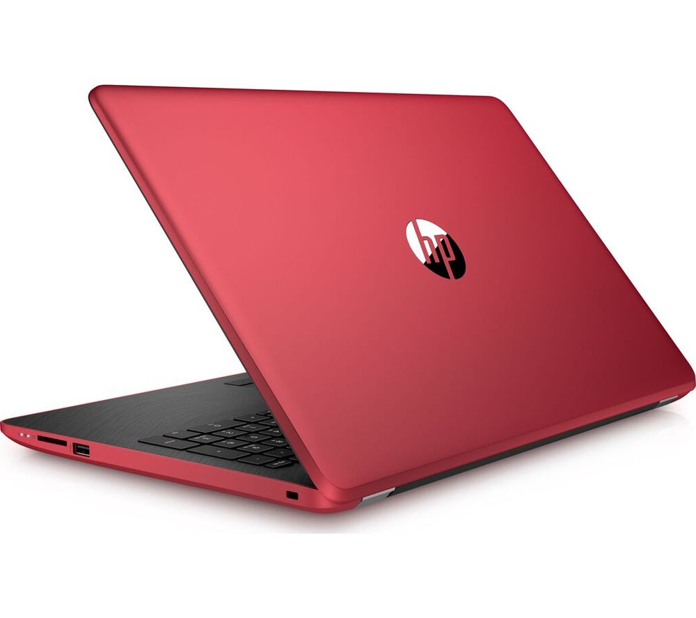Buy Hp 15 Bs560sa 15 6 Quot Laptop Red Free Delivery Currys