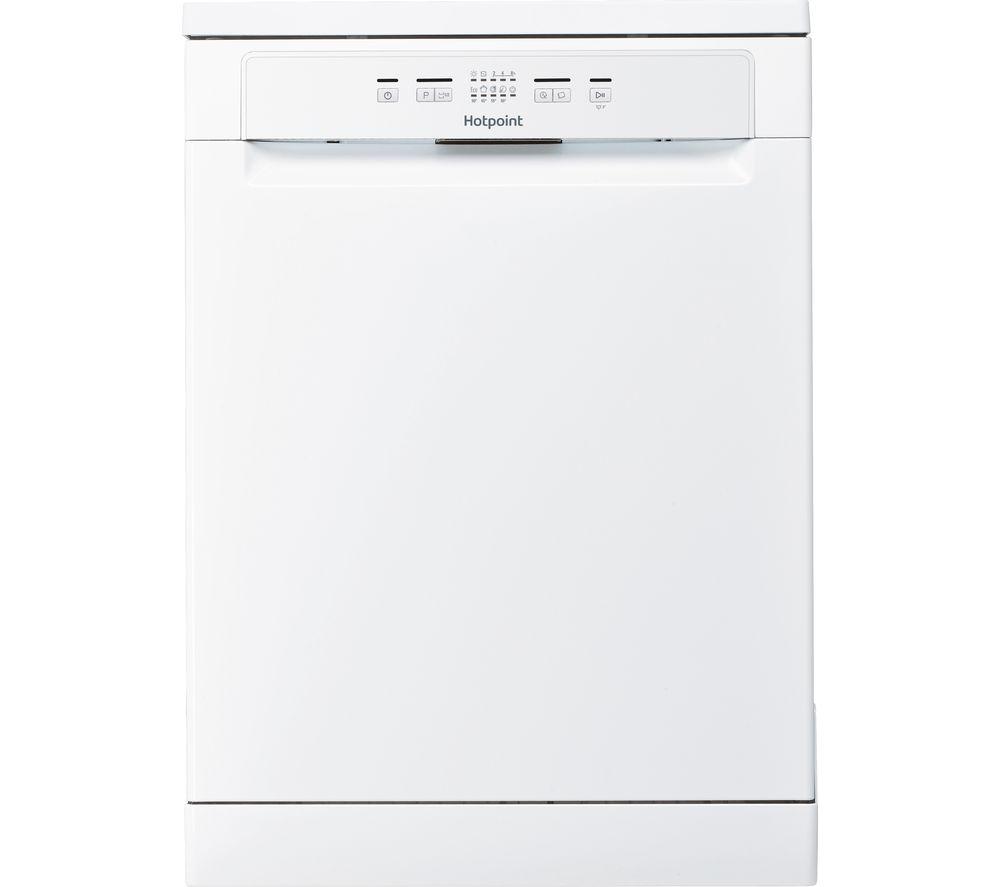 HOTPOINT HFC 2B19 UK Full-size Dishwasher - White, White