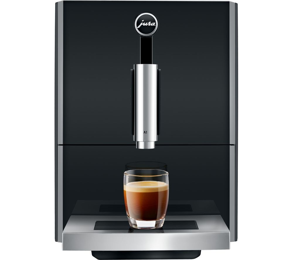 JURA A1 Bean to Cup Coffee Machine – Black, Black