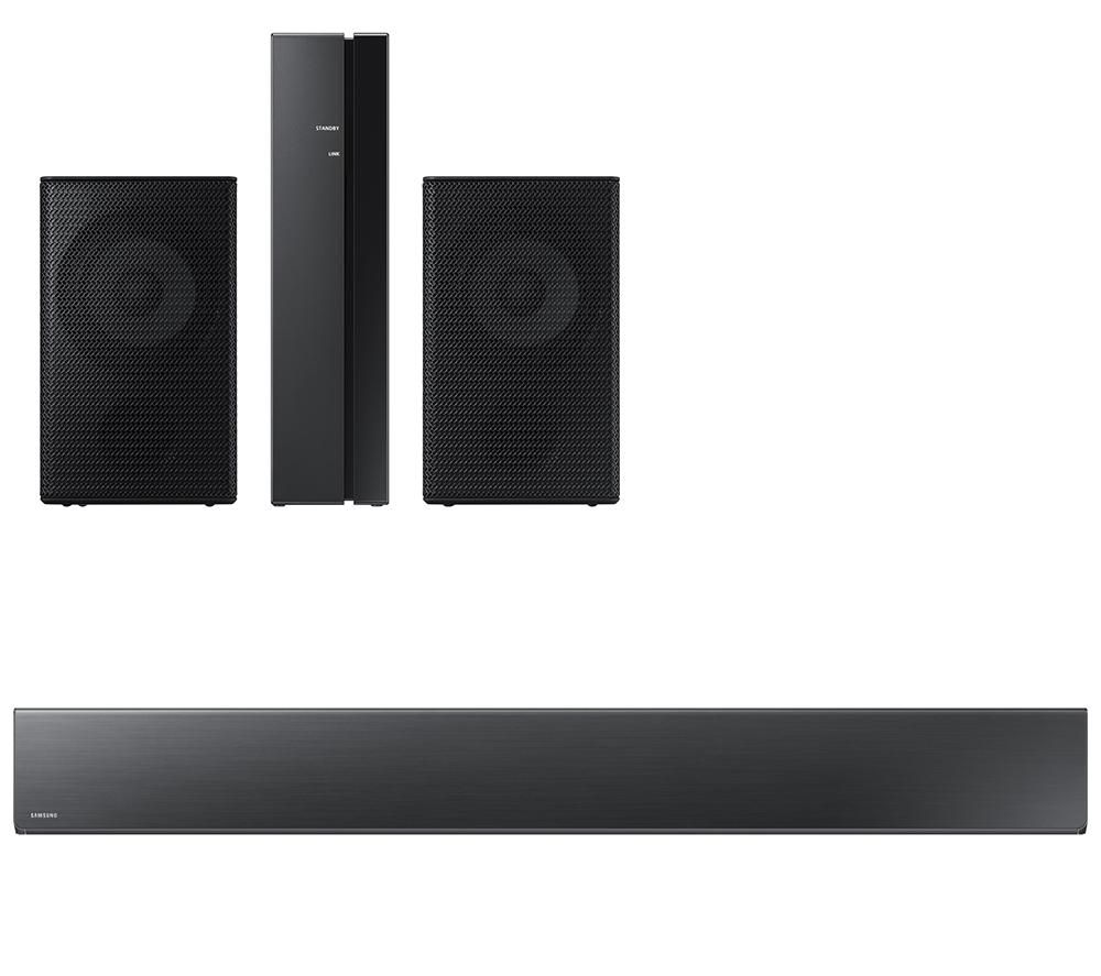 SAMSUNG Sound+ HW-MS650 3.0 All-in-One Sound Bar & Wireless Rear Speaker Kit Bundle