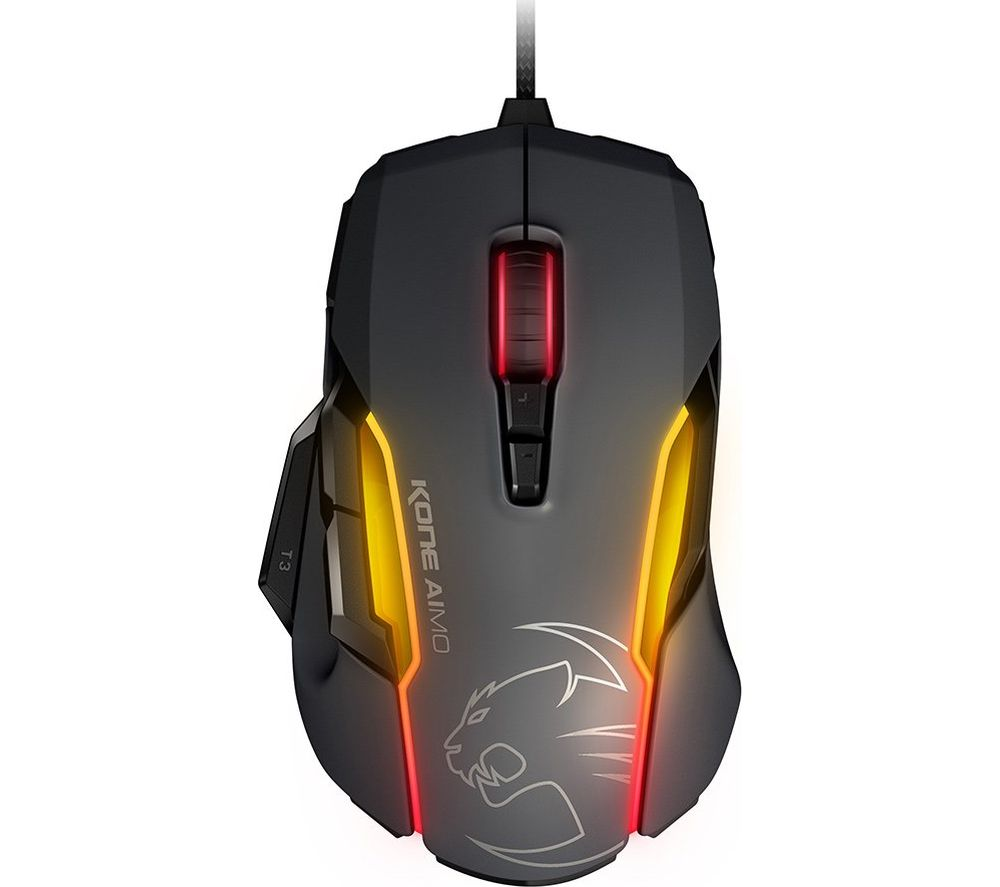 ROCCAT Kone Aimo Optical Gaming Mouse - Grey