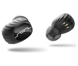 SOL REPUBLIC Amps Air Wireless Bluetooth Headphones - Black