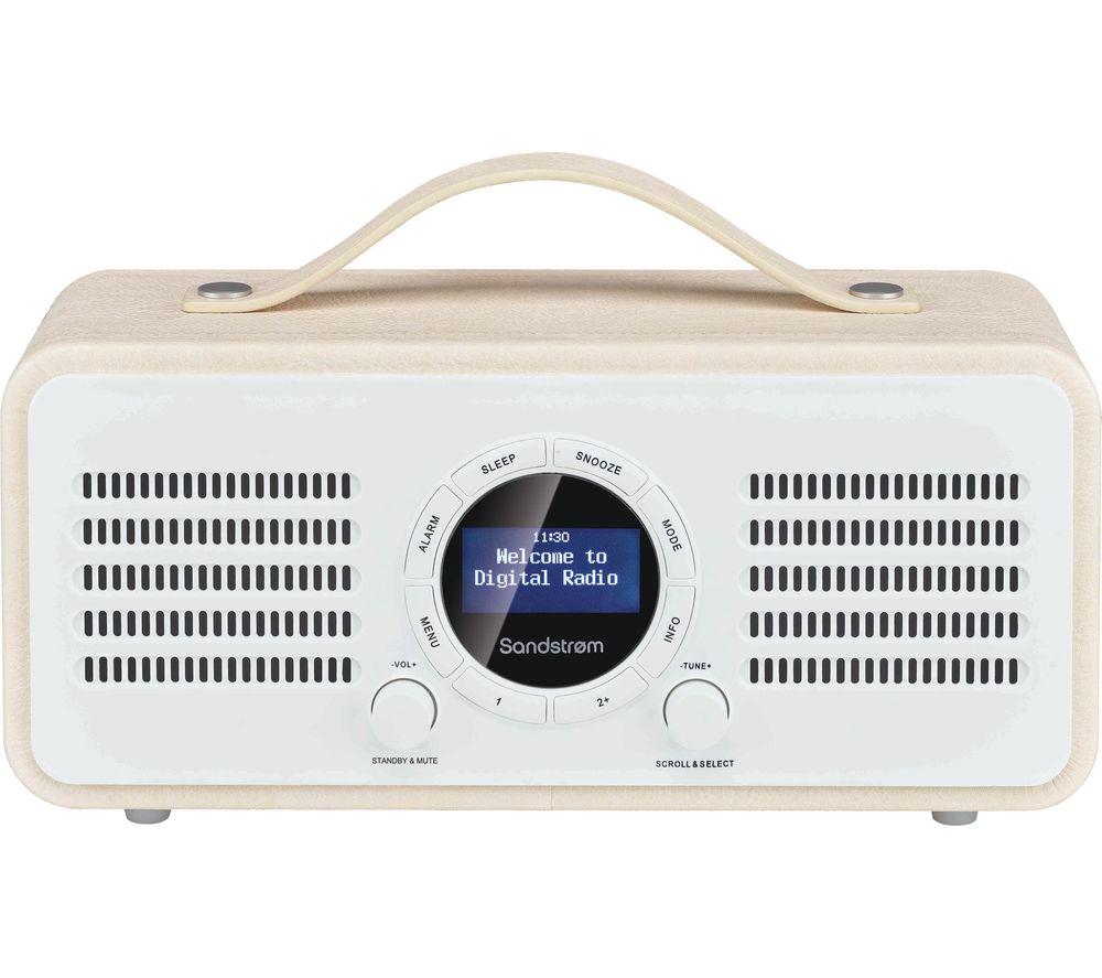 SANDSTROM SL-DBTC18 Portable DAB Bluetooth Radio specs