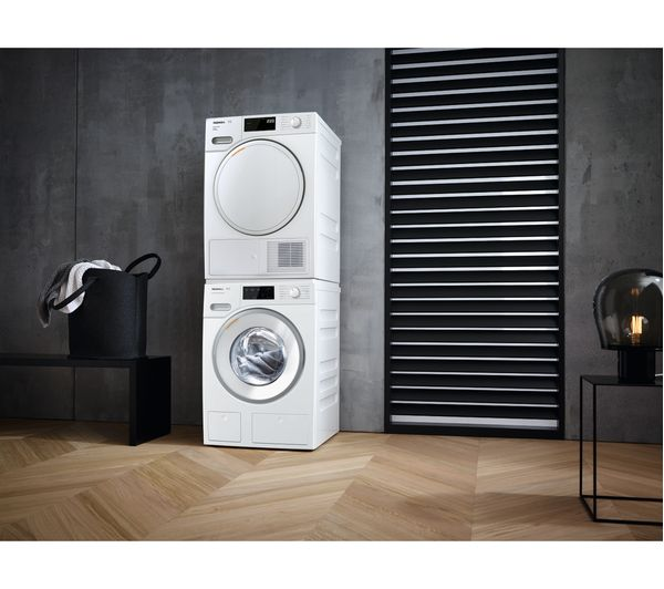 MIELE TwinDos WWE660 Smart 8 kg 1400 Spin Washing Machine - White