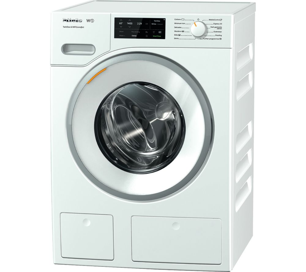 buy miele twindos wwe660 smart 8 kg 1400 spin washing machine white free delivery currys. Black Bedroom Furniture Sets. Home Design Ideas