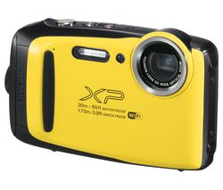 FUJIFILM XP130 Tough Compact Camera - Yellow