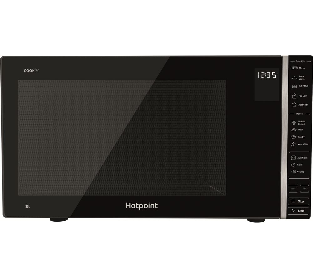HOTPOINT MWH 301 B Solo Microwave - Black