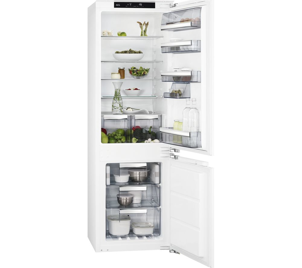 Image of AEG SCE8182XNC Integrated 70/30 Fridge Freezer