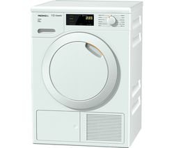 MIELE Active TDB220 7 kg Heat Pump Tumble Dryer - White